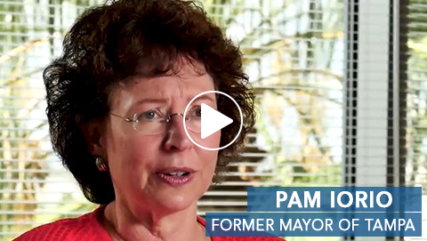 Pam Iorio_Former Mayer of Tampa Video Image