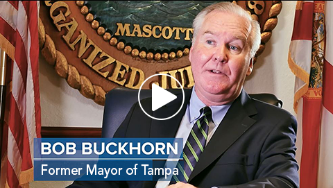 Tampa Mayor Buckhorn Video Image